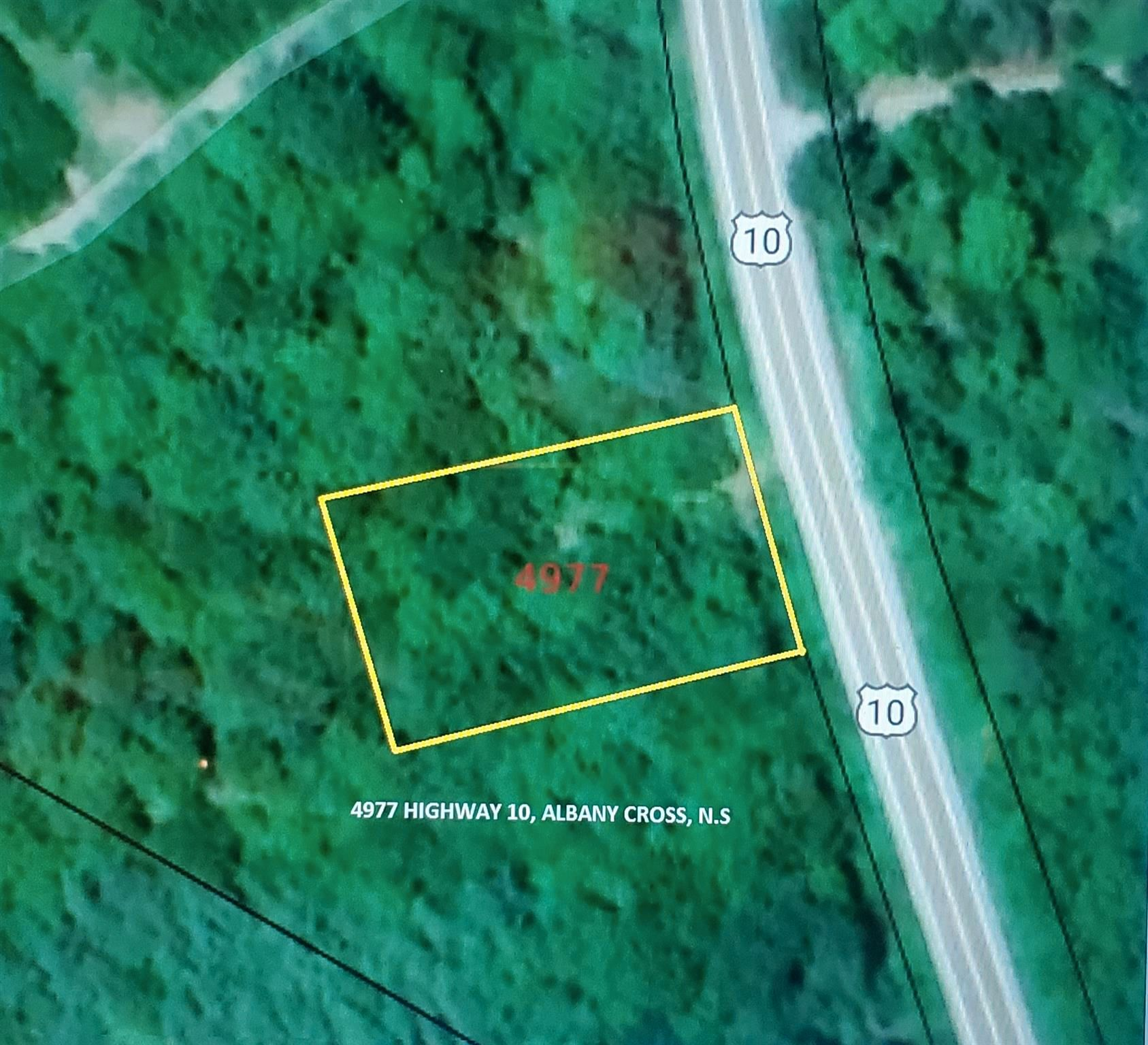 Main Photo: 4977 Highway 10 in New Albany: 400-Annapolis County Vacant Land for sale (Annapolis Valley)  : MLS®# 202108283