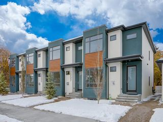 Main Photo: 2007 1 Street NE in Calgary: Tuxedo Park Row/Townhouse for sale : MLS®# A1090575