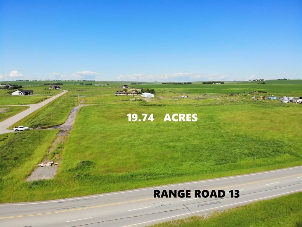 Main Photo: 262227 Range Rd 13 in Rural Rocky View County: Rural Rocky View MD Land for sale : MLS®# A1010810