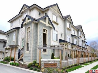 """Photo 1: 1 8418 163RD Street in Surrey: Fleetwood Tynehead Townhouse for sale in """"MAPLE ON 84"""" : MLS®# F1314758"""