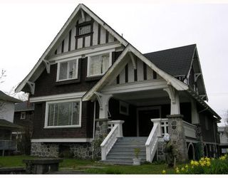 Photo 1: 355 W 13TH Avenue in Vancouver: Mount Pleasant VW House for sale (Vancouver West)  : MLS®# V762266