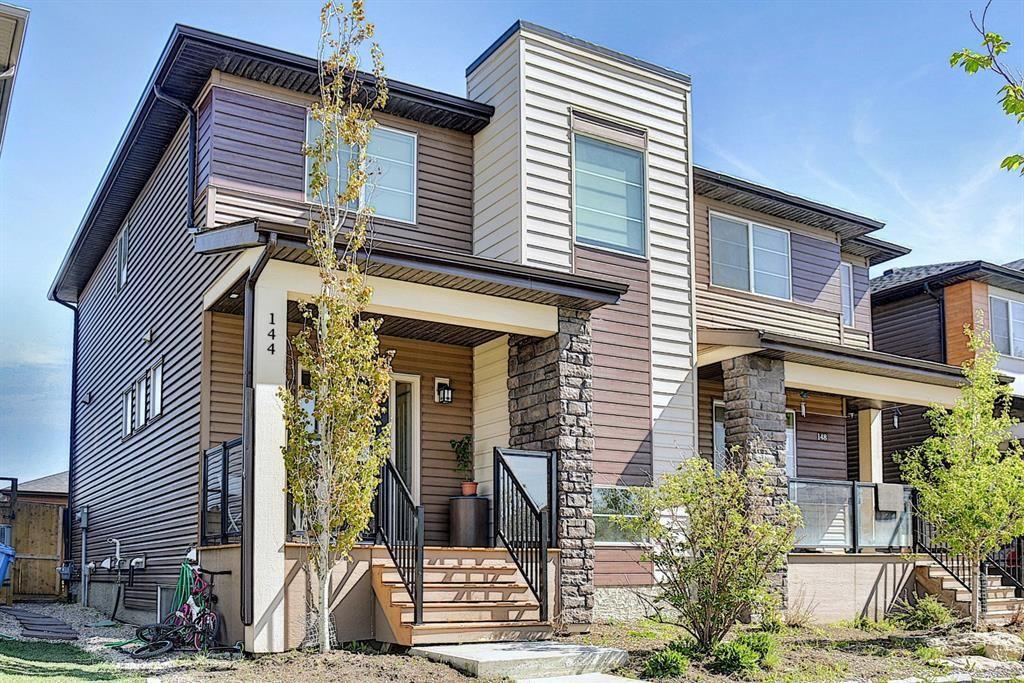 Main Photo: 144 Cornerstone Avenue NE in Calgary: Cornerstone Semi Detached for sale : MLS®# A1116950