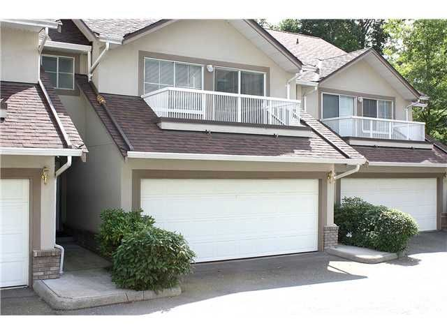 """Main Photo: 3422 AMBERLY Place in Vancouver: Champlain Heights Townhouse for sale in """"TIFFANY RIDGE"""" (Vancouver East)  : MLS®# V902701"""
