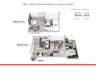 """Photo 23: 306 1351 CONTINENTAL Street in Vancouver: Downtown VW Condo for sale in """"THE MADDOX"""" (Vancouver West)  : MLS®# R2617899"""
