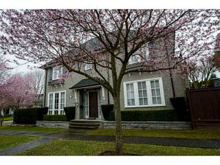 Photo 1: 1739 W 52ND AV in Vancouver: South Granville House for sale (Vancouver West)  : MLS®# V1109473