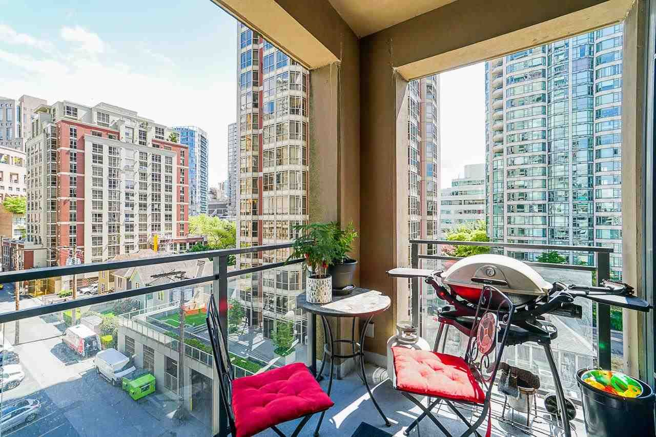 """Main Photo: 709 888 HOMER Street in Vancouver: Downtown VW Condo for sale in """"The Beasley"""" (Vancouver West)  : MLS®# R2592227"""