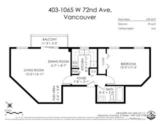 """Photo 20: 403 1065 W 72ND Avenue in Vancouver: Marpole Condo for sale in """"OSLER HEIGHTS"""" (Vancouver West)  : MLS®# R2601485"""