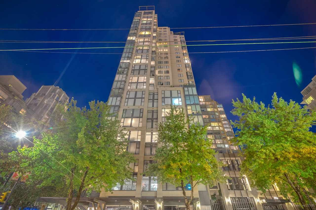 Main Photo: 1804 1155 HOMER STREET in Vancouver: Yaletown Condo for sale (Vancouver West)  : MLS®# R2397906