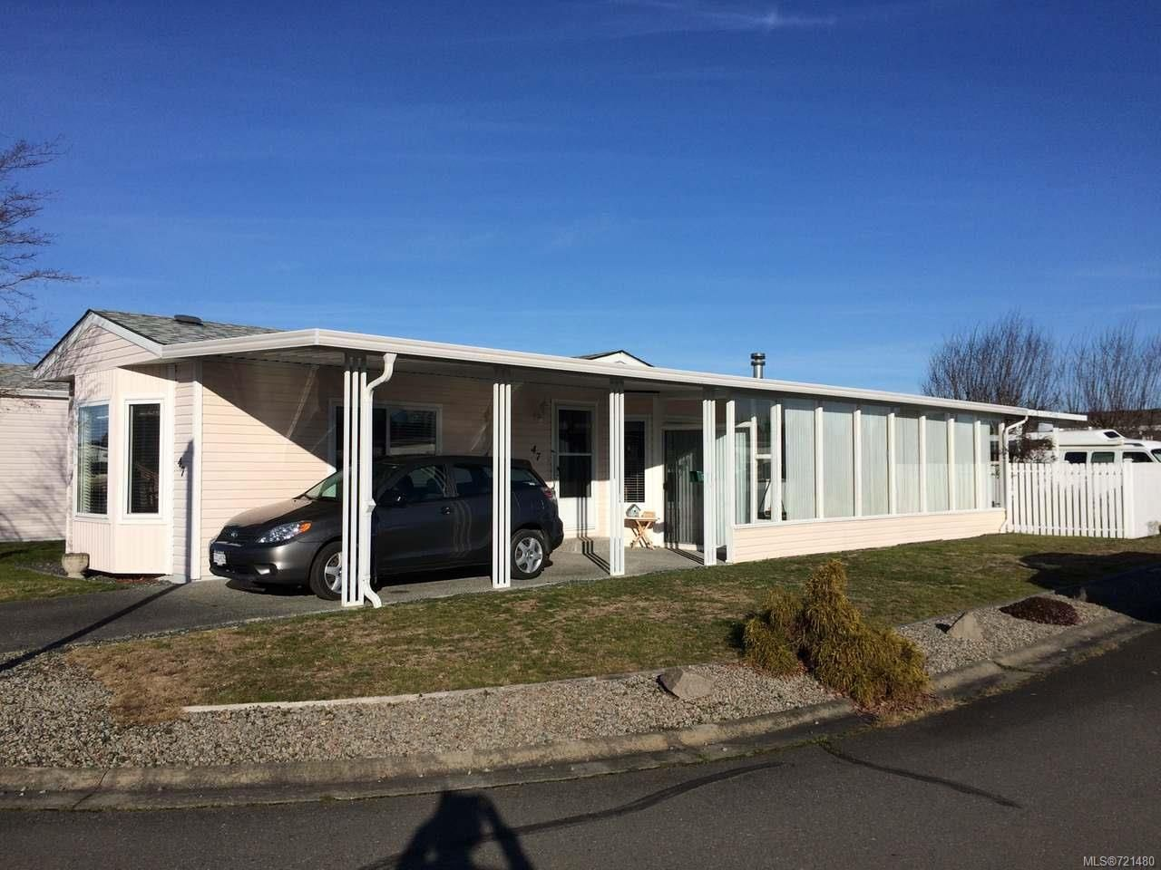 Main Photo: 47 450 E STANFORD E Avenue in PARKSVILLE: PQ Parksville Manufactured Home for sale (Parksville/Qualicum)  : MLS®# 721480