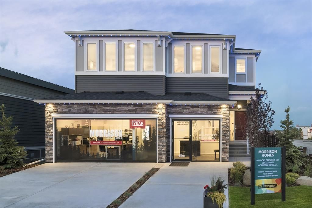 Main Photo: 40 Lucas Crescent NW in Calgary: Livingston Detached for sale : MLS®# A1045696