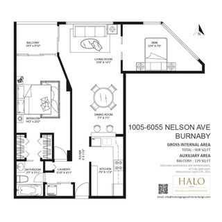 """Photo 39: 1005 6055 NELSON Avenue in Burnaby: Forest Glen BS Condo for sale in """"LA MIRAGE II"""" (Burnaby South)  : MLS®# R2574876"""