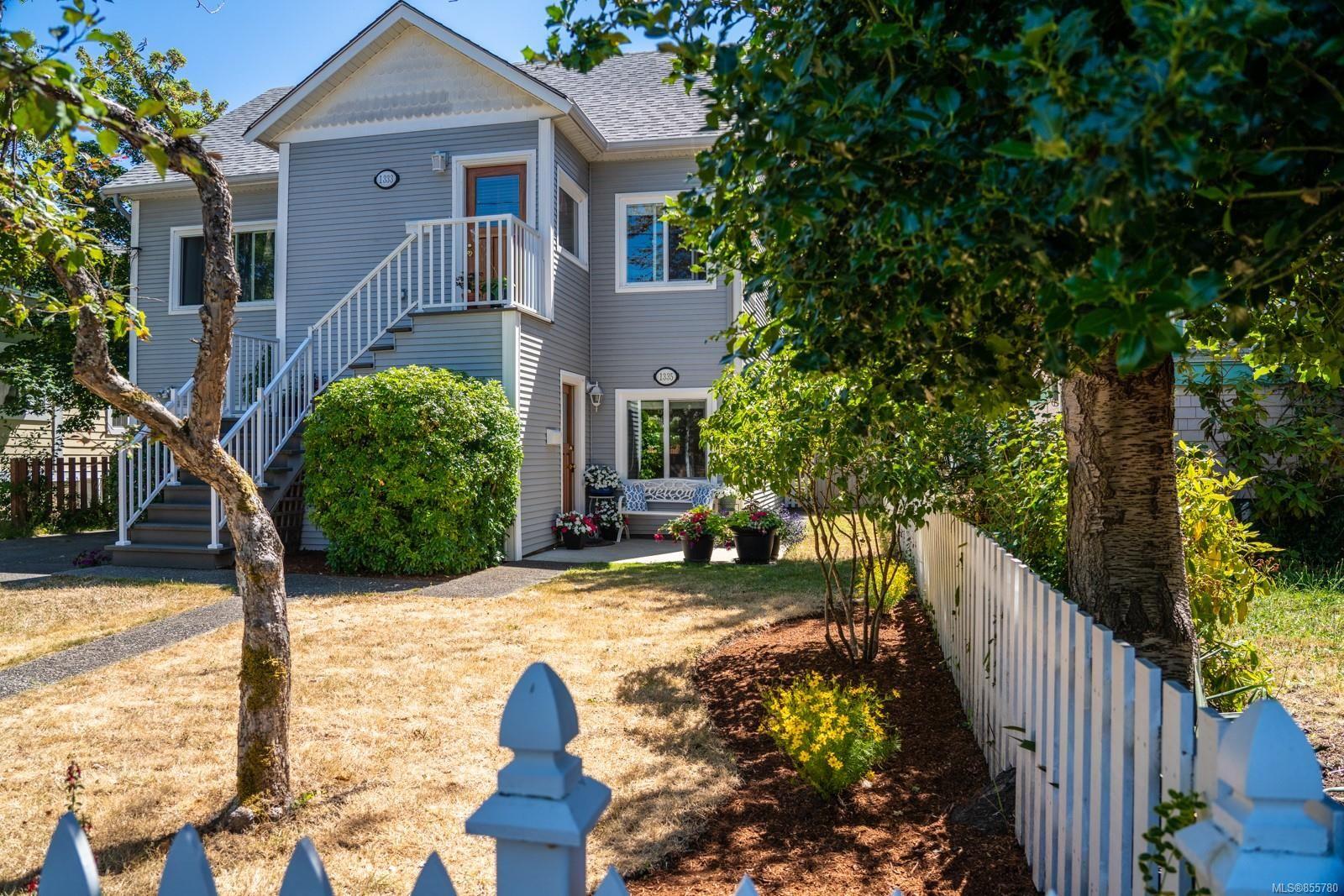 Main Photo: 1335 Balmoral Rd in : Vi Fernwood Half Duplex for sale (Victoria)  : MLS®# 855780