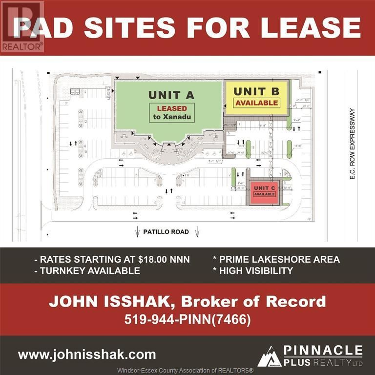 Main Photo: 446 ADVANCE BOULEVARD in Lakeshore: Industrial for lease : MLS®# 21011054