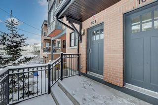 Photo 3: 101 1818 14A Street SW in Calgary: Bankview Row/Townhouse for sale : MLS®# A1066829