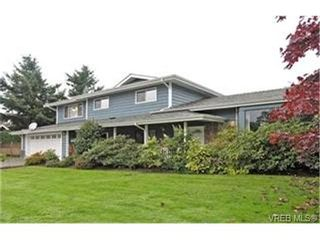 Photo 1: 4132 Mariposa Hts in VICTORIA: SW Strawberry Vale House for sale (Saanich West)  : MLS®# 419041