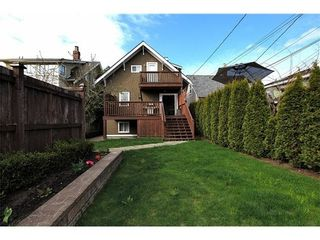 Photo 10: 116 20TH Ave W in Vancouver West: Cambie Home for sale ()  : MLS®# V943731