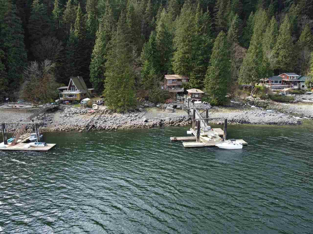 Main Photo: Lot 7 COLDWELL Beach in North Vancouver: Indian Arm House for sale : MLS®# R2559011