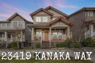 "Photo 1: 23419 KANAKA Way in Maple Ridge: Cottonwood MR House for sale in ""Village at Kanaka"" : MLS®# R2539524"