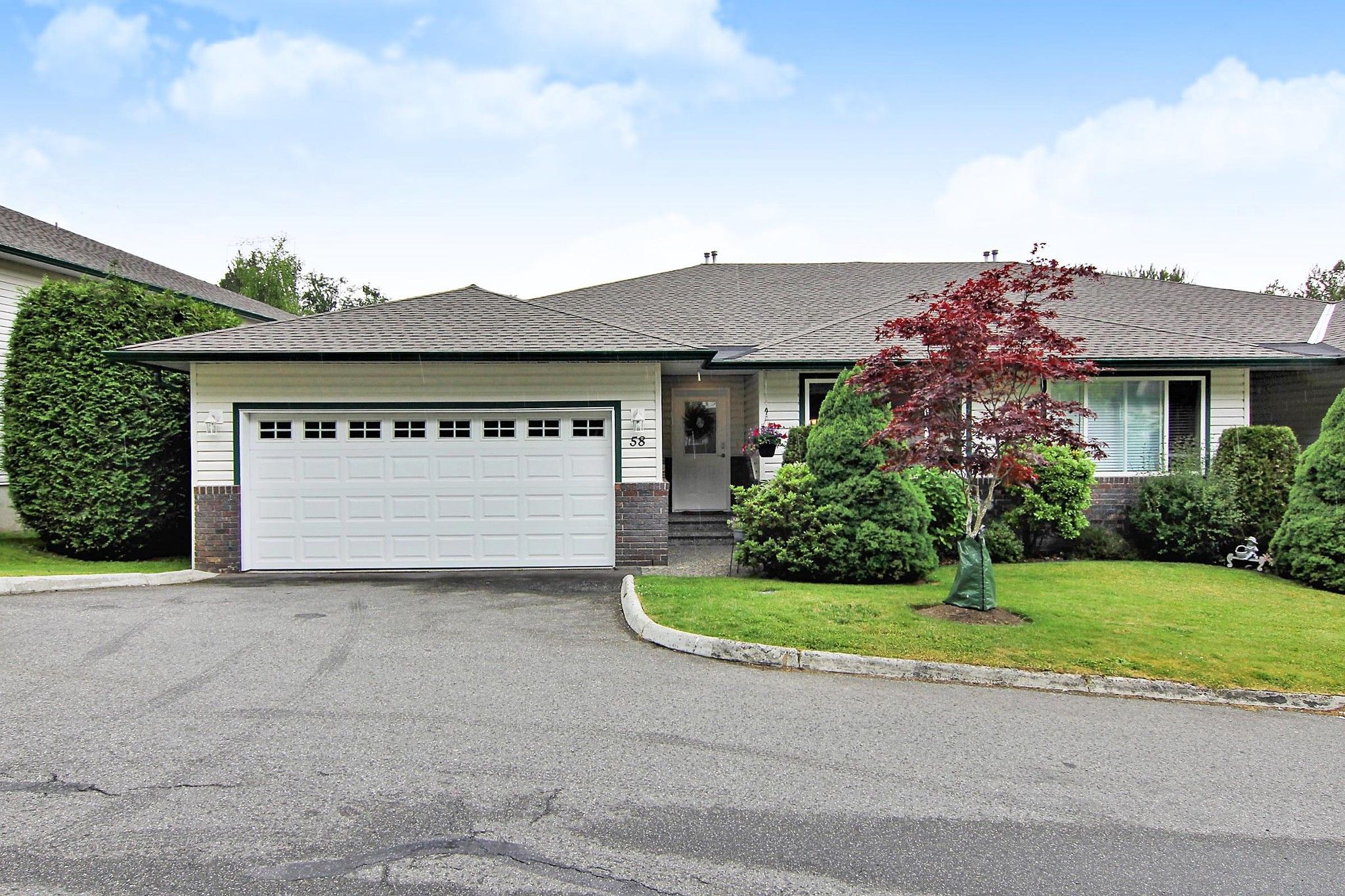 Main Photo: 58 34250 HAZELWOOD Avenue in Abbotsford: Abbotsford East Townhouse for sale : MLS®# R2378409