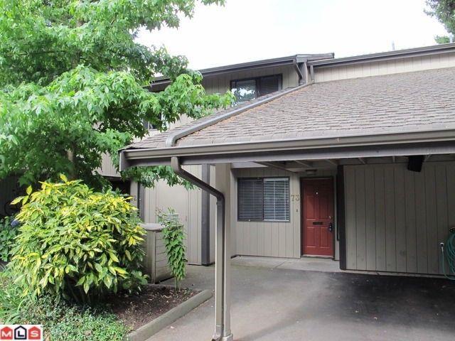 "Main Photo: 73 6622 BAKER Road in Delta: Sunshine Hills Woods Townhouse for sale in ""Sunridge Estates"" (N. Delta)  : MLS®# F1119731"