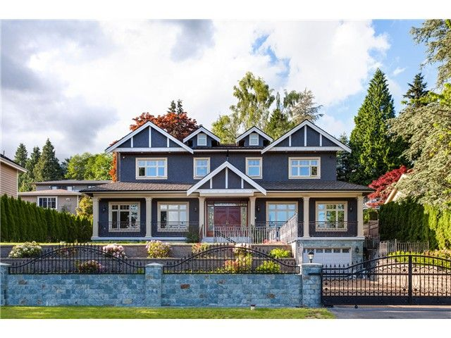 Main Photo: 1365 Palmerston Av in West Vancouver: Ambleside House for sale : MLS®# V1066234