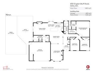 Photo 20: 830 ENGLISH BLUFF ROAD in Delta: Tsawwassen Central House for sale (Tsawwassen)  : MLS®# R2194507