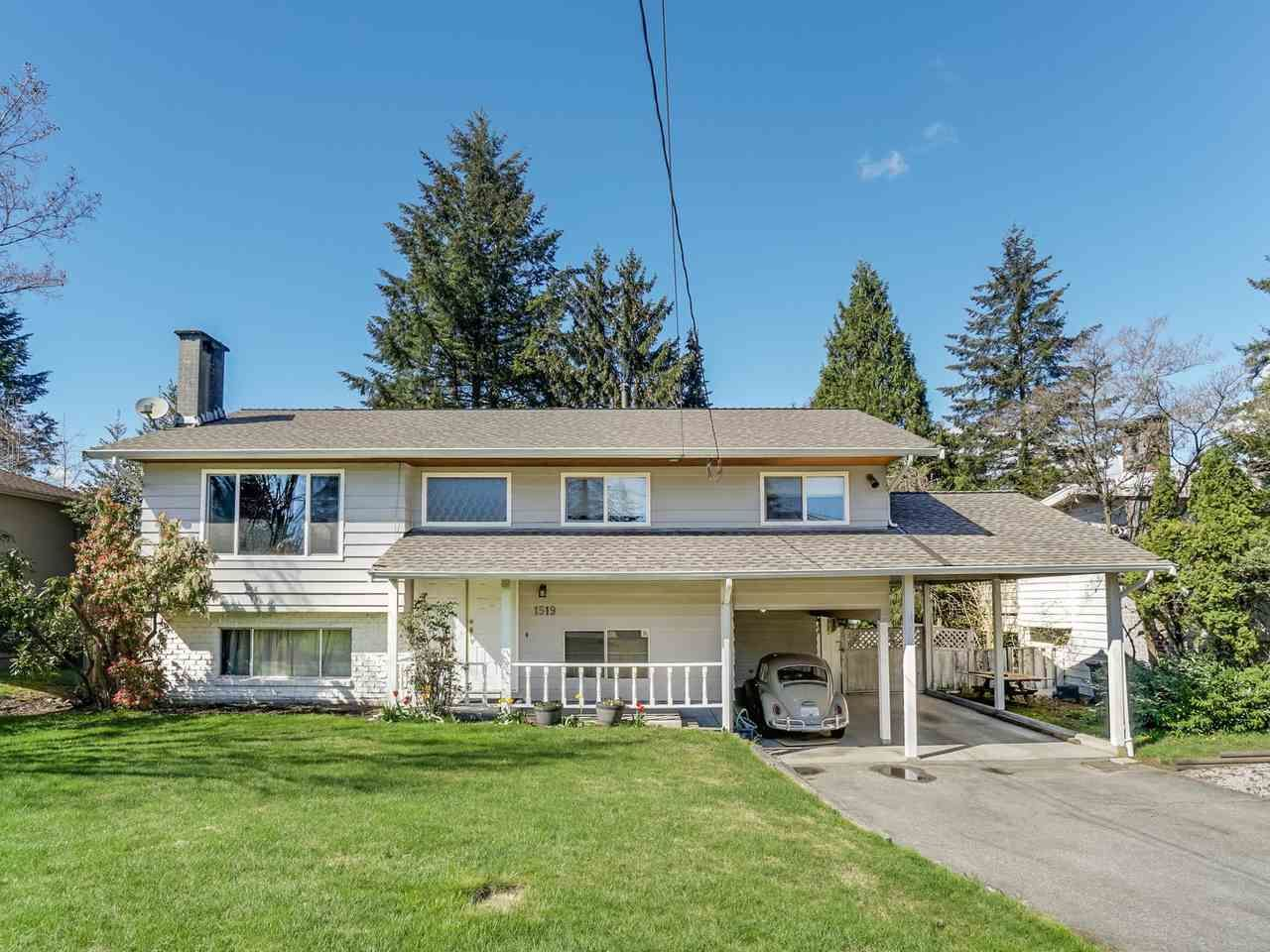 Main Photo: 1519 MILFORD Avenue in Coquitlam: Central Coquitlam House for sale : MLS®# R2159290