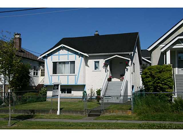 Main Photo: 4184 INVERNESS Street in Vancouver: Knight House for sale (Vancouver East)  : MLS®# V1075434