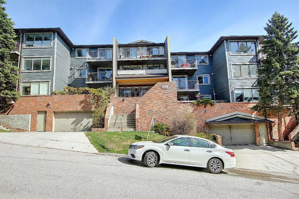 Main Photo: 306 420 3 Avenue NE in Calgary: Crescent Heights Apartment for sale : MLS®# A1105817