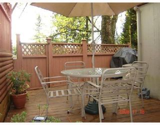 Photo 10: 856 BLACKSTOCK Road in Port_Moody: North Shore Pt Moody Townhouse for sale (Port Moody)  : MLS®# V753997