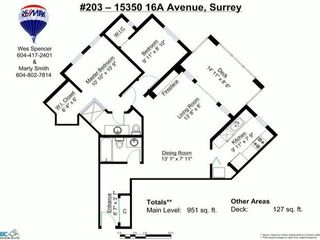 "Photo 20: 203 15350 16A Avenue in Surrey: King George Corridor Condo for sale in ""Ocean Bay Villas"" (South Surrey White Rock)  : MLS®# F1422453"