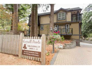 """Photo 18: 1 1486 EVERALL Street: White Rock Townhouse for sale in """"EVERALL POINTE"""" (South Surrey White Rock)  : MLS®# F1450870"""