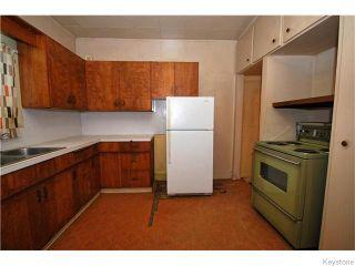 Photo 3: 1550 Ross Avenue West in WINNIPEG: Brooklands / Weston Residential for sale (West Winnipeg)  : MLS®# 1529899