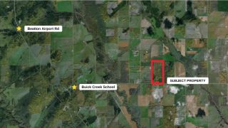Photo 2: EAST 1/2 - SEC 3 BUICK CREEK Road in Fort St. John: Fort St. John - Rural W 100th Land for sale (Fort St. John (Zone 60))  : MLS®# R2544875