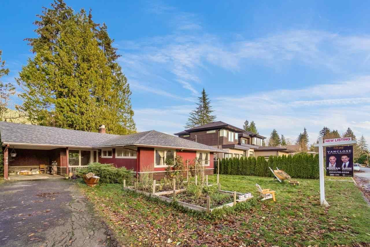 Main Photo: 946 GLENORA Avenue in North Vancouver: Edgemont House for sale : MLS®# R2521306