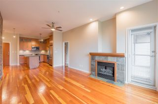 """Photo 2: 208 250 SALTER Street in New Westminster: Queensborough Condo for sale in """"PADDLERS LANDING"""" : MLS®# R2542712"""