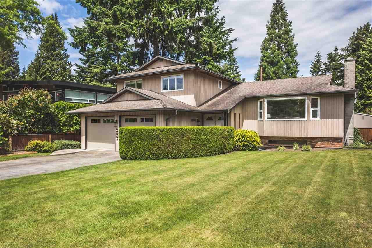 Main Photo: 12667 25A Avenue in Surrey: Crescent Bch Ocean Pk. House for sale (South Surrey White Rock)  : MLS®# R2176345