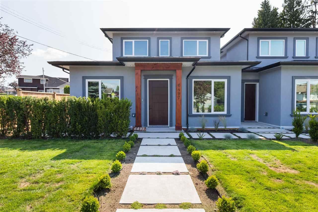 Main Photo: 6497 WALKER Avenue in Burnaby: Upper Deer Lake 1/2 Duplex for sale (Burnaby South)  : MLS®# R2509028