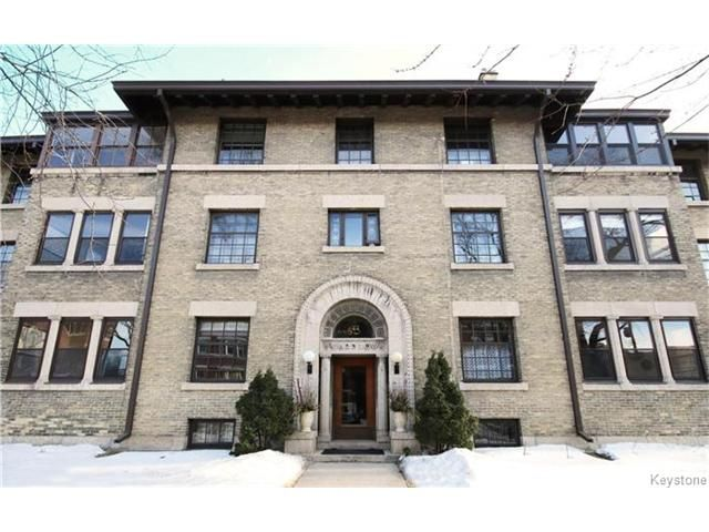 Main Photo: 544 Wardlaw Avenue in Winnipeg: Osborne Village Condominium for sale (1B)  : MLS®# 1704481