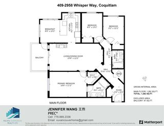 """Photo 5: 409 2958 WHISPER Way in Coquitlam: Westwood Plateau Condo for sale in """"SUMMERLIN"""" : MLS®# R2575108"""