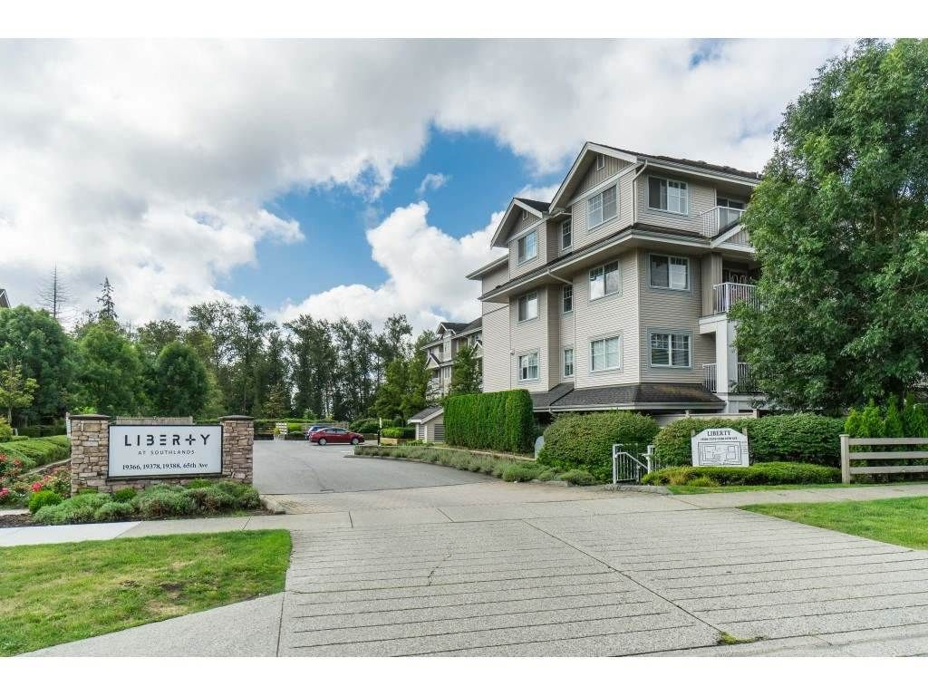 "Main Photo: 204 19388 65 Avenue in Surrey: Clayton Condo for sale in ""Liberty"" (Cloverdale)  : MLS®# R2530654"