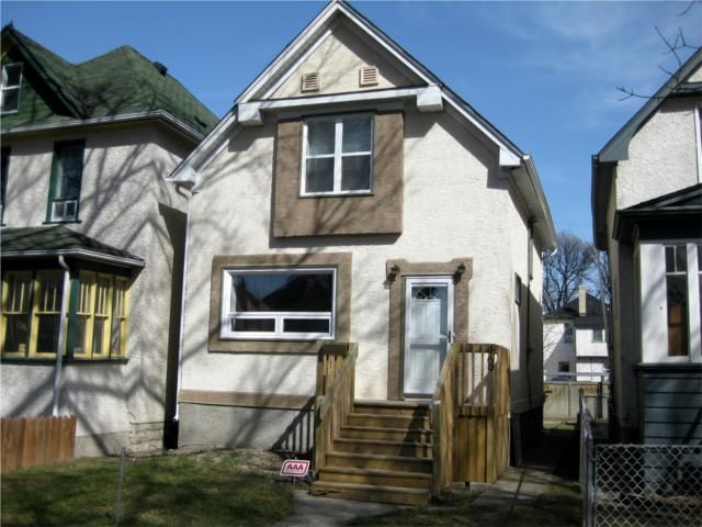 Main Photo: 469 Home Street in WINNIPEG: West End / Wolseley Residential for sale (West Winnipeg)  : MLS®# 1007526