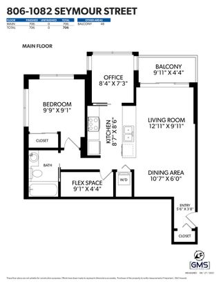 """Photo 26: 806 1082 SEYMOUR Street in Vancouver: Downtown VW Condo for sale in """"FREESIA"""" (Vancouver West)  : MLS®# R2621696"""