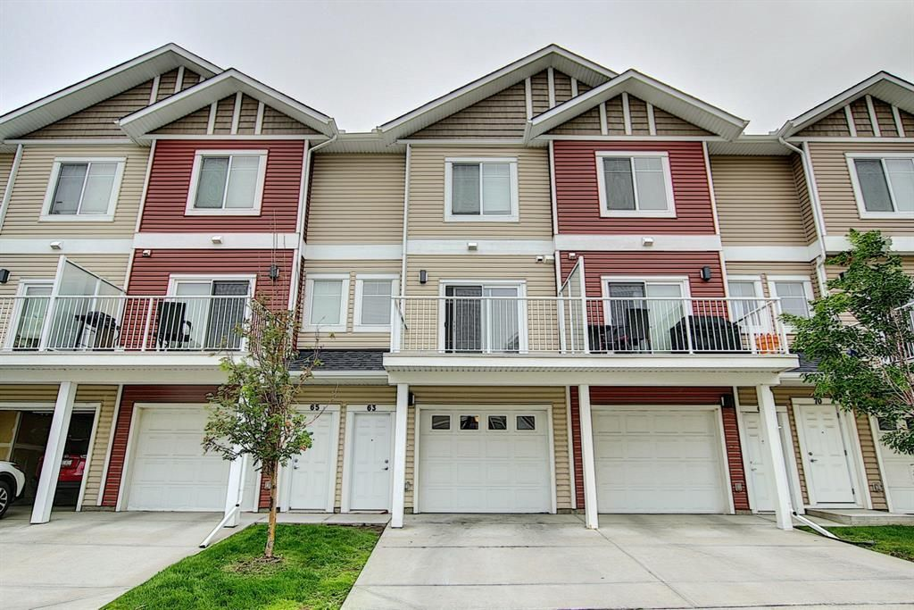 Main Photo: 63 Redstone Circle NE in Calgary: Redstone Row/Townhouse for sale : MLS®# A1141777