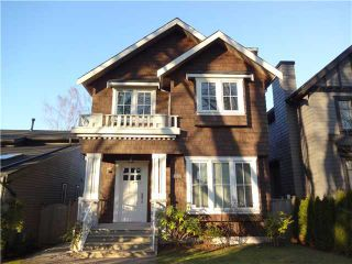Photo 1: 4037 W 19TH Avenue in Vancouver: Dunbar House for sale (Vancouver West)  : MLS®# V1043308