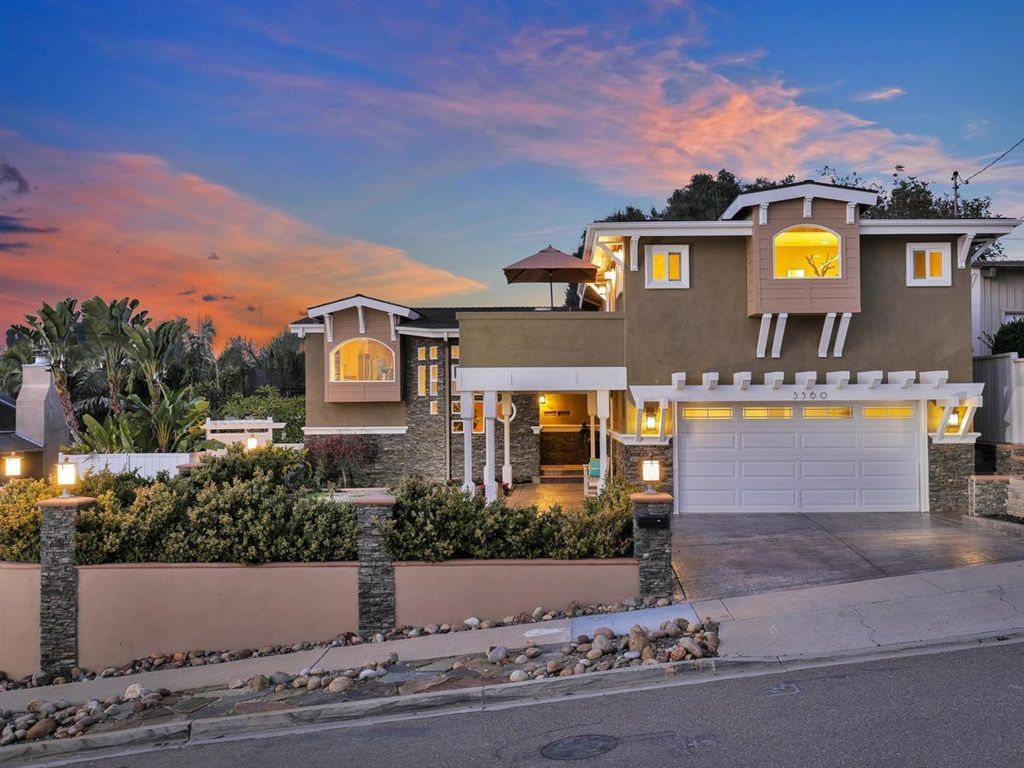 Main Photo: CLAIREMONT House for sale : 3 bedrooms : 3360 Mt. Laurence Drive in San Diego