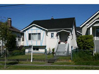 Photo 1: 4184 INVERNESS Street in Vancouver: Knight House for sale (Vancouver East)  : MLS®# V1075434