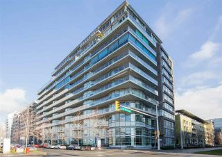 """Photo 1: 407 181 W 1ST Avenue in Vancouver: False Creek Condo for sale in """"BROOK AT THE VILLAGE"""" (Vancouver West)  : MLS®# R2617184"""