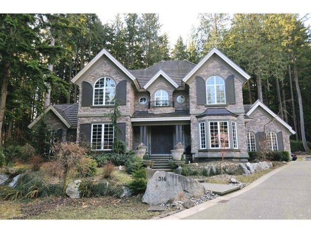 Main Photo: 316 FORESTVIEW Lane: Anmore House for sale (Port Moody)  : MLS®# V1046256