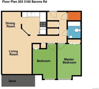 Photo 2: 203 3185 Barons Rd in : Na Uplands Condo for sale (Nanaimo)  : MLS®# 858597
